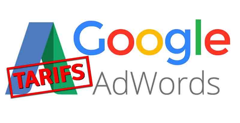 tarif d'une campagne Google Ads
